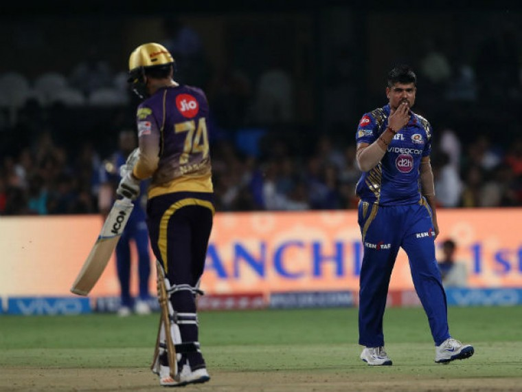 IPL-10: Mumbai bundle Kolkata out for paltry 107 in second qualifier
