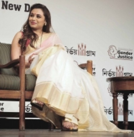 Time as mother happiest years of my life: Rani Mukerji