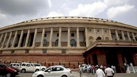 Congress, BJP spar over Parliament session