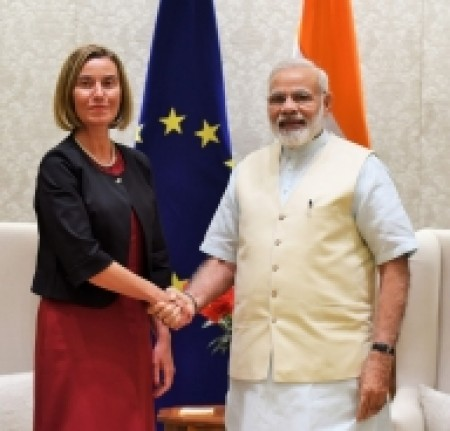 India, EU agree to strengthen security cooperation (Lead)
