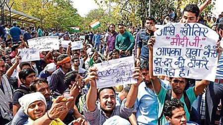 SSC aspirants give government 15 days ultimatum for CBI probe