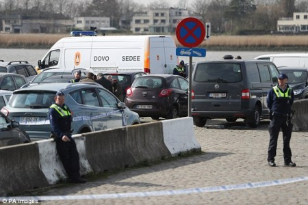 Man held for 'driving at crowd' in Belgium