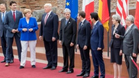 Trump shade on G-7 Clilmate