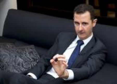 Assad visits Russian airbase in Syria