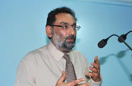Haseeb Drabu is Chairman of north zone finance ministers' panel