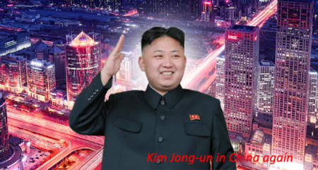 Kim Jong-un in China again