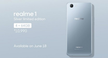 Limited edition of OPPO's 'RealMe 1' launched