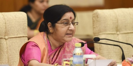 Sushma Swaraj arrives Monday on maiden visit to France