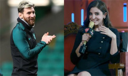 Lionel Messi is waiting for release of Phillauri; Anushka Sharma tweets a �messi�ng� reply