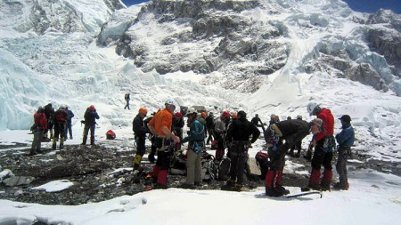 Training camp in Europe for Indian mountaineers