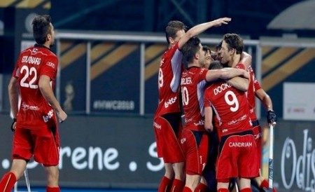 Hockey World Cup: Belgium thrash Pakistan to enter quarters