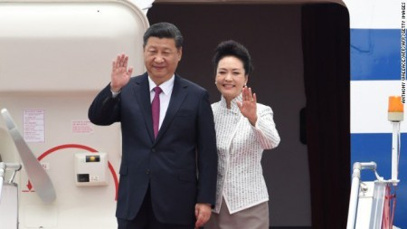 Chinese President makes first trip to Hong Kong