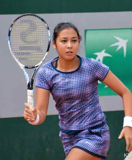 Diyas wins first WTA title at Japan Open