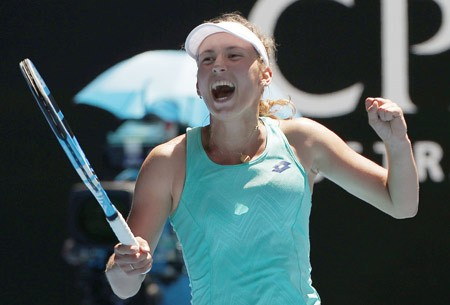 Mertens ousts Svitolina in Australian Open quarters