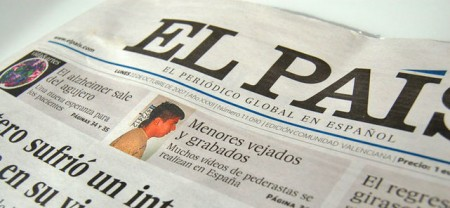 Spanish daily's website unblocked in China
