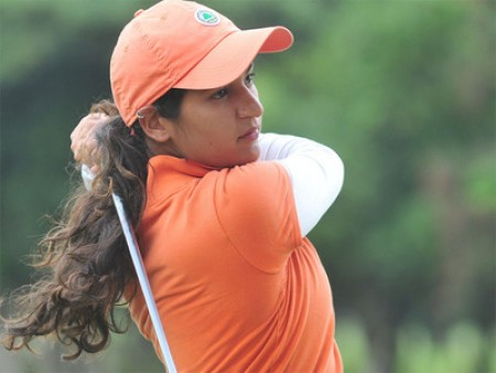 Golfers Gursimar, Neha share lead after round 1 of second leg