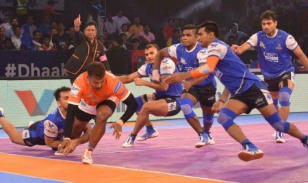 PKL-5 : Puneri Paltan defeated Haryana Steelers