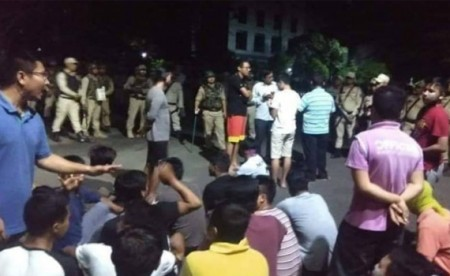 80 Manipur University students arrested